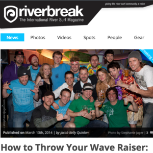 Riverbreak Contributions