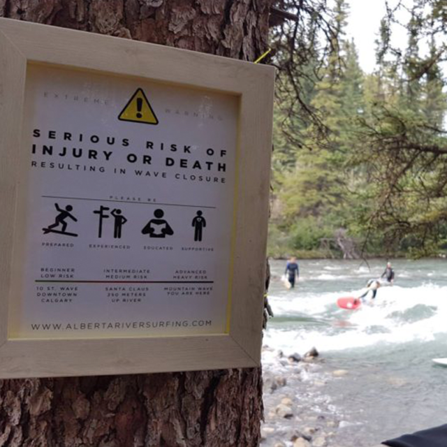 Kananaskis Safety Signage